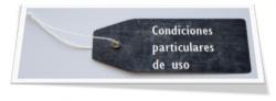 condiciones particulares de uso