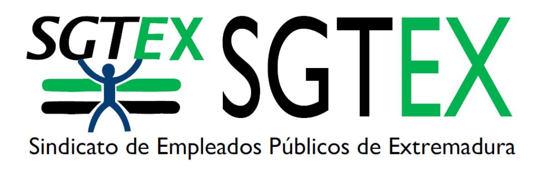 SGTEX Sindicato de Empleados Públicos de Extremadura